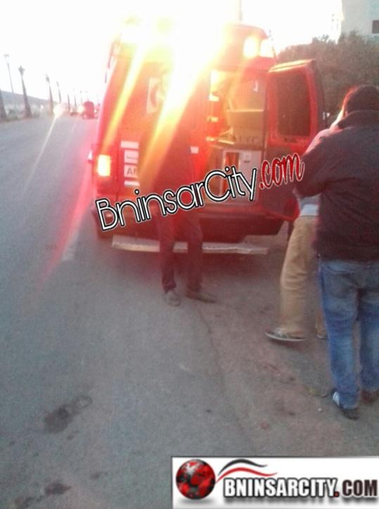 اعتداء شنيع على شاب عشريني بواسطة السلاح الأبيض  بحي سيدي موس غاسي بمدينة بني انصار