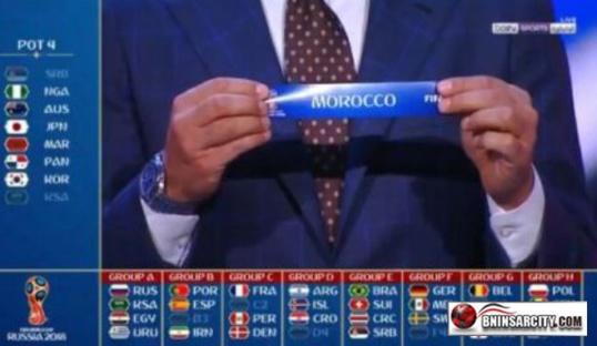 قرعة كأس العالم روسيا  2018: المغرب يقع في مجموعة نارية