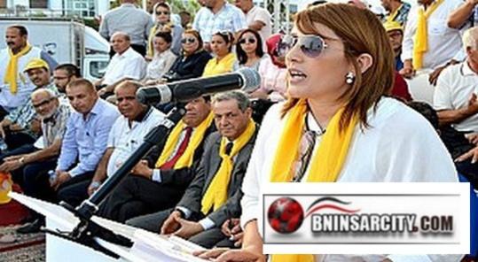ليلى أحكيم البرلمانية عن حزب الحركة الشعبية تعبر عن أسفها الشديد لفقدان سعيد الرحموني المقعد البرلماني بالناظور