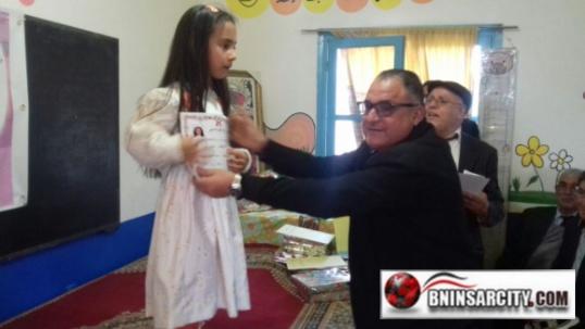 مدرسة البكري ببني انصار تنظم حفلا تربويا بهيجا / فيديو