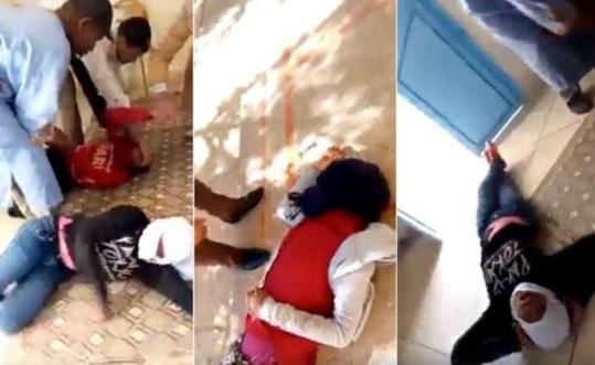 فيديو مرعب : تلميذات يسقطن في حالة هستيرية داخل ثانوية  و الأسباب مجهولة