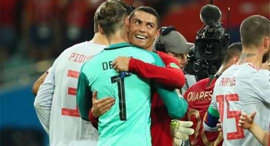 كريستيانو رونالدو النجم البرتغالي يوجه رسالة عاجلة للمغرب