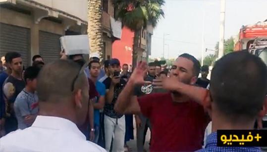 """إحتجاجات للدفاع عن الحافلات الجديدة """"فيكتاليا"""" ضد طاكسيات العروي/فيديو"""