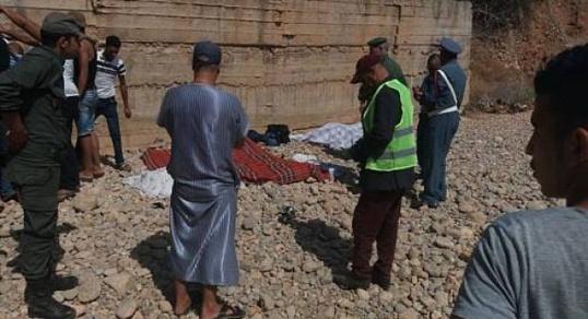 عدد القتلى  ارتفع إلى 8 في حادثة السير بطريق  أحفير والسعيدية