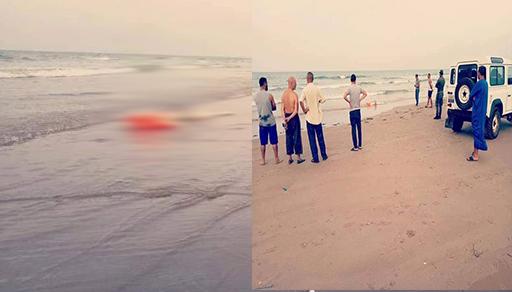 """شاطئ """"بوقانا"""" يقذف جثة شخص مجهول الهوية"""