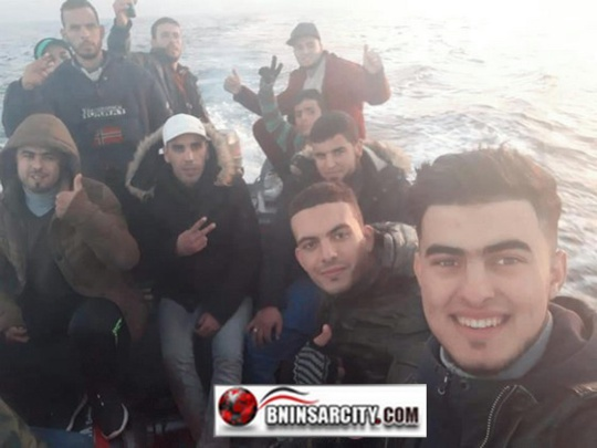 شبان أبحروا سرا من سواحل الحسيمة يصلون إلى إسبانيا/ فيديو