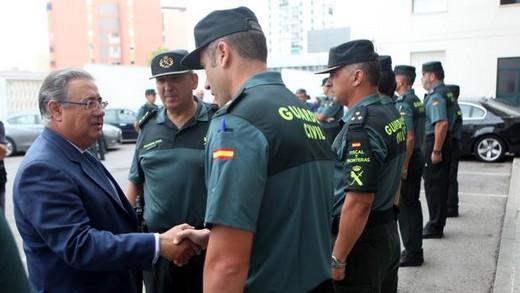 Melilla:la guardia civil  aumentara la plantilla del cuerpo en 320 agentes