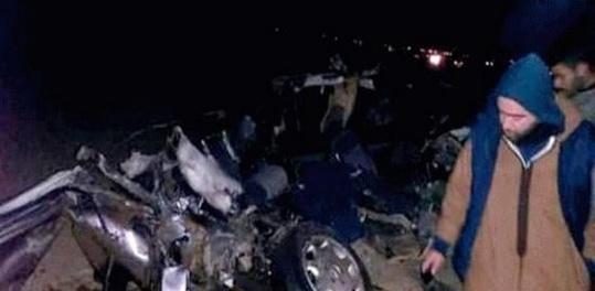 وفاة شابين من بن الطيب في حادث خطير على الطريق بين الناظور و جرسيف