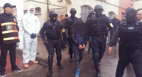 اعتقال شاب بأزغنغان باقليم الناظور من قبل عناصر عبد الحق الخيام
