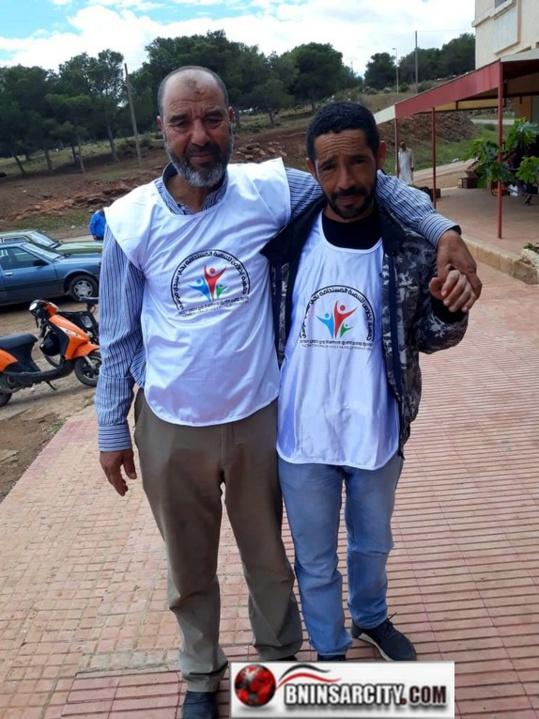 مساجد بني أنصار تستفيد من القا فلة الخيرية التي نظمتها جمعيةاخلاص للتنمية المستدامة بحي سيدي موسى