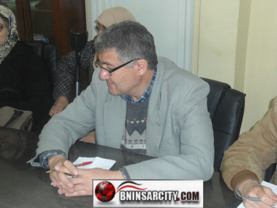 السيد مصطفى الرشيق  ينتخب رئيسا جديدا للمكتب الاداري  لجمعية الاعمال الاجتماعية لموظفات و موظفي جماعة بني انصار