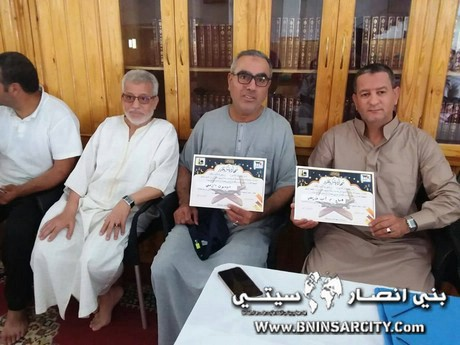 مسجد النور ببني انصار يحتفي بمسابقة في تجويد القرآن الكريم