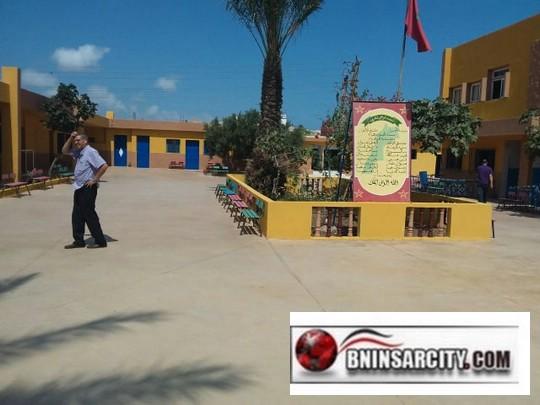 مدرسة البكري ببني انصار تستقبل تلامذتها في حلة جديدة