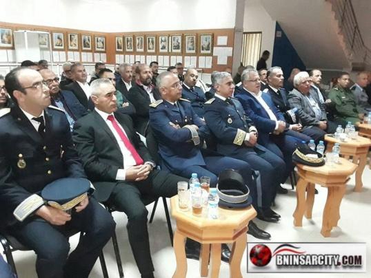 احتفالات الشعب المغربي بالذكرى الرابعة والأربعين للمسيرة الخضراء المظفرة ببني انصار