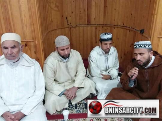 مسجد النور ببني انصار يحتفي بذكرى المولد النبوي الشريف
