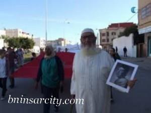 """تعزية في وفاة الحاج محمد جيمي المعروف ب """"بوثشوقت"""" بمدينة بني انصار"""
