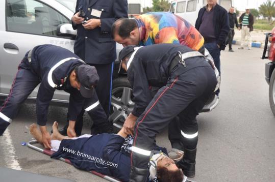 عاجل : حادثة سير خطيرة ببني انصار