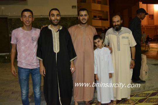مسجد النور ببني انصار يحتفي بليلة القدر المباركة