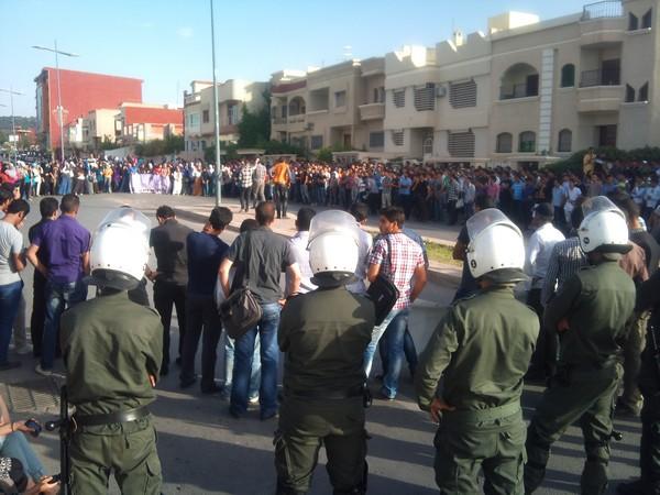 اعتقال ثلاثة طلاب في جامعة محمد الأول بمدينة وجدة