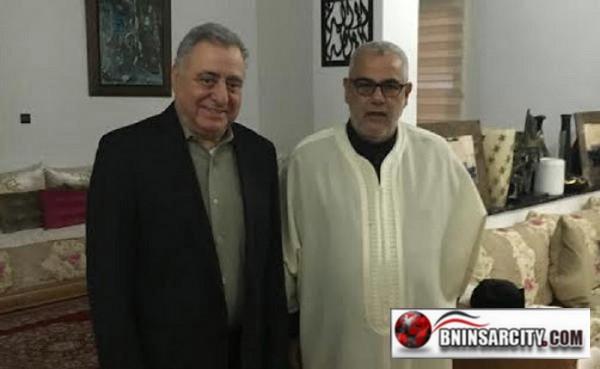 عبد الإله بنكيران الأمين العام لحزب العدالة والتنمية ينسحب غاضبًا من مؤتمر حزب زيان