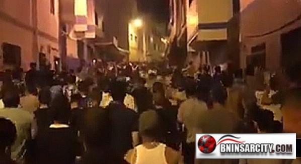 مسيرة حاشدة ب مدينة إمزورن للمطالبة بإطلاق سراح المعتقلين/ فيديو