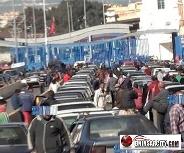 كارثة بمعبر بني انصار/مليلية: فيديو
