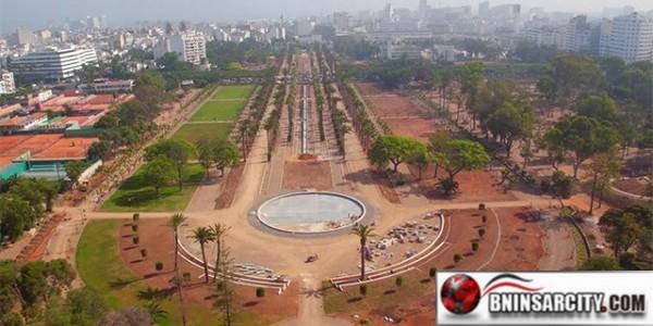Réhabilitation du Parc de la ville de Casablanca/ video