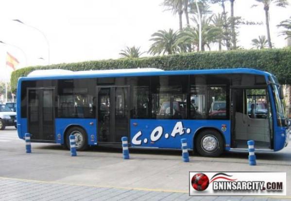 ممتهني التهريب ببني انصار وباريوتشينو  يهجمون على حافلات مليلية الجديدة