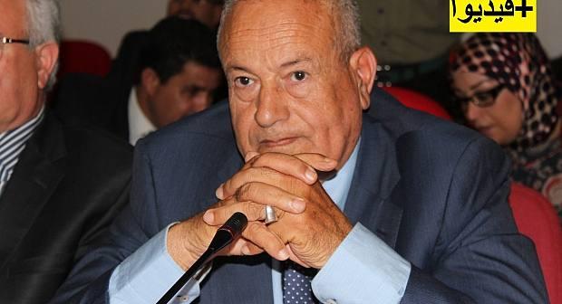 محمد ابرشان من منزله بعد فوزه في انتخابات الناظور الجزئية