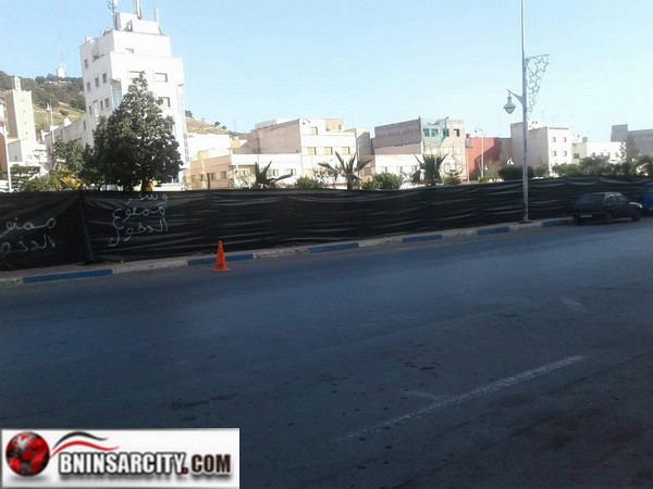 """فضائح السلطات بالناظور تتواصل: أكبر منطقة خضراء وسط الناظور""""حديقة 3 مارس"""" ستتحول الى محطة تاكسيات"""