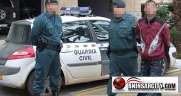 الحرس المدني الاسباني بمليلية المحتلة يعتقل شخصين يشتبه في تورطهما في طعن أخر بالمنطقة الحدودية لفرخانة/ بني انصار