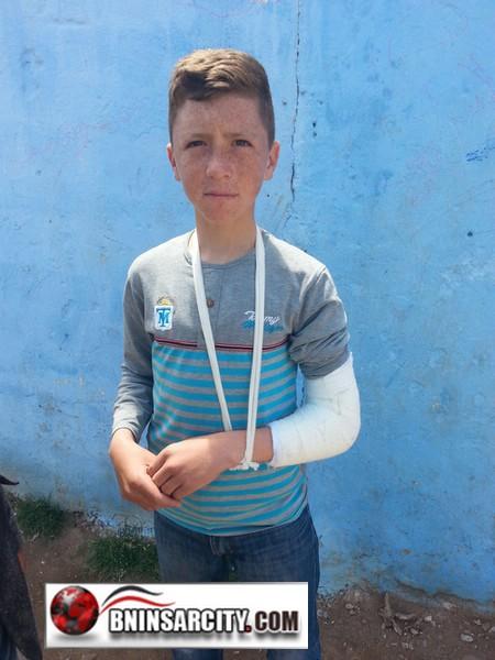 """ويستمر مسلسل العنف بمدرسة سيدي موسى """"غاسي"""" ببني انصار"""