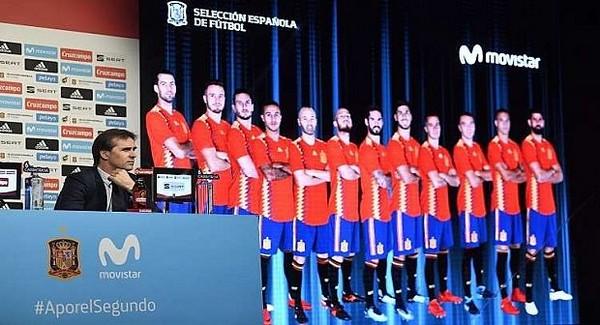 تشكيلة منتخب إسبانيا لمونديال روسيا