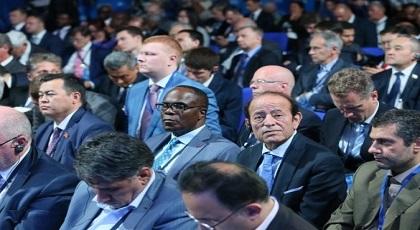عبد القادر سلامة النائب الرابع لرئيس مجلس المستشارين المغرب بروسيا