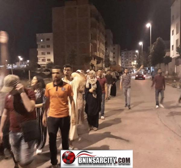 احتجاجات حاشدة قادها طلبة بالكلية المتعددة التخصصات بالناظور