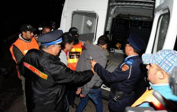 """مفوضية شرطة ببني انصارتشن حملة ضد """"الكريساج"""" والسرقة والنشل"""