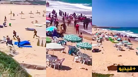 ظاهرة تهريب البشر: مركب يقل مهاجرين سريين يخطئ الوجهة ويرسو في شاطئ بطنجة