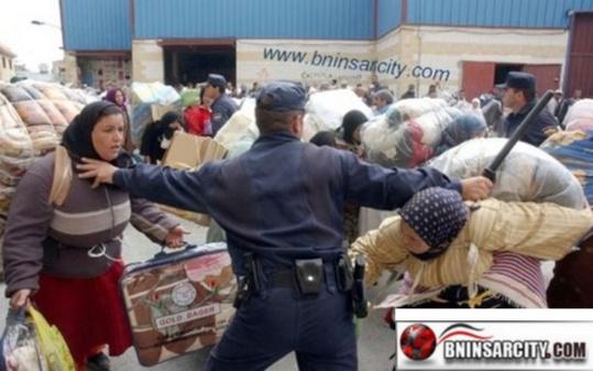 بني انصار: رجال أعمال مليلية يعتبرون قرار السلطات المغربية منع مرور البضائع بالمعبر منعطفا خطيرا