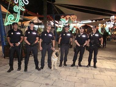 Melilla: más de 362 policías locales velarán por la seguridad en feria
