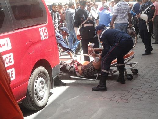 مقتل شاب  طعنا بالسلاح الأبيض بحي شعالة قرب المحطة الطرقية بالناظور