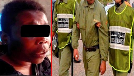 مهاجرة إفريقية تتهم مخازنية بإغتصابها
