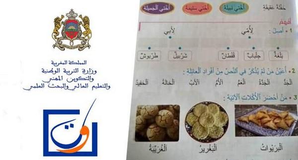 انتقادات شعبيبة وسياسية ومدنية التي  للحكومة جراء إدراج بعض المصطلحات بالدارجة المغربية في بعض المقررات المردسية