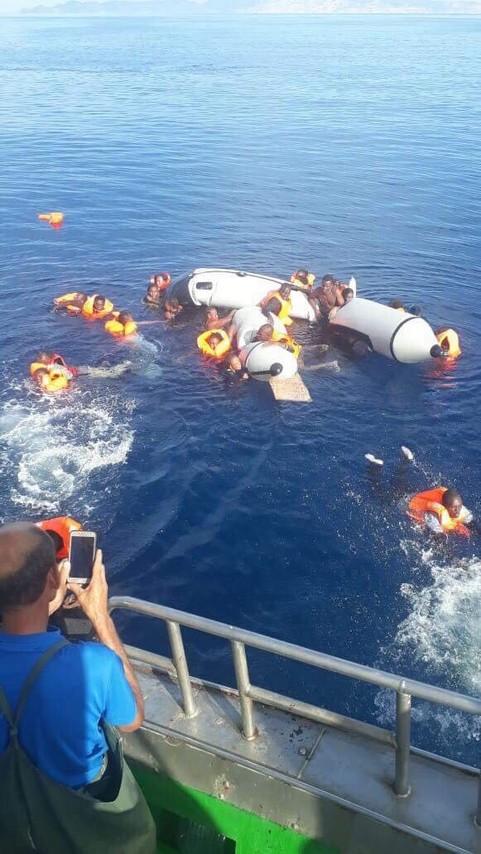 مصرع 5 مهاجرين سريين ينحدرون من بلدان جنوب الصحراء غرقا بمياه بويافارباقليم الناظور/ فيديو