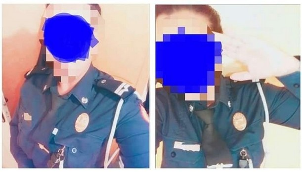اعتقال خادمة ارتدت زي مشغلها الشرطي والتقطت صورا مخلة