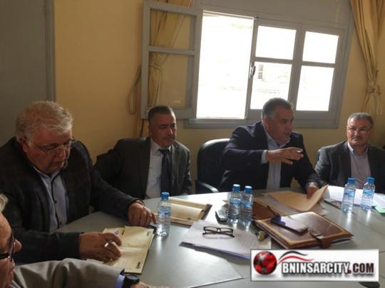 المجلس الجماعي لبني انصار يعقد دورة استثنائية بفضاء الذاكرة التاريخية للمقاومة و التحرير