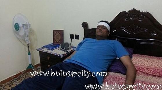 الشفاء العاجل للفاعل الجمعوي سعيد الشرامطي ابن مدينة بني انصار