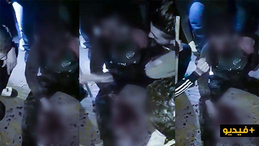 القبض على لص بجماعة بويافار باقليم الناظور/ فيديو