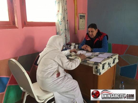 قافلة الخير الطبية تشخص 480 حالة طبية بدوار لهدارة بأركمان