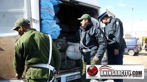 عناصر الجمارك  تحبط ثلاث عمليات تهريب هامة قادمة من الجهة الشرقية :  تفوق قيمتها مليوني درهم
