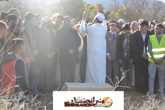 مراسيم تشييع  الضحية ''إخلاص'' من مسقط رأسها أزلاف بإقليم الدريوش.